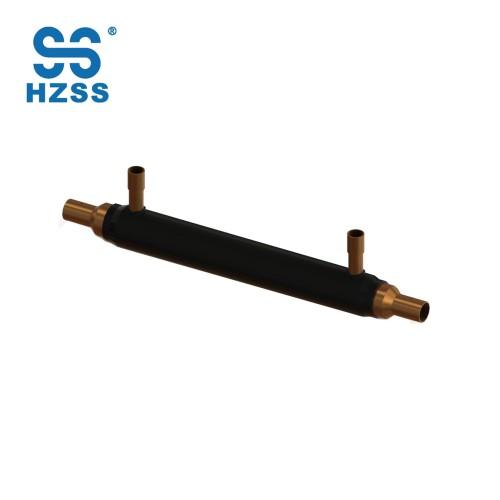 HZSS WSHP bobina de cobre tipo mosquito-tipo condensador de bobina y evaporador de agua / fuente de calor de la bomba de calor