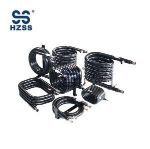 HZSS SS-0050GT Kondenzátor a výparník pro cívky WSHP Koaxiální výměník tepla