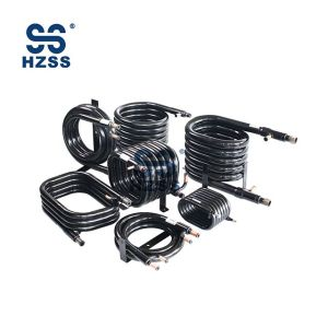 HZSS SS-0050GT Condenser & Evaporator for WSHP Coils Coaxial Heat Exchanger
