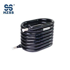 Condensador y evaporador para bobinas WSHP Intercambiador de calor coaxial HZSS SS-0100GT