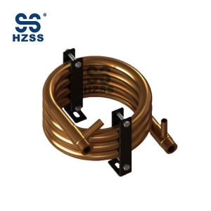 R410A Refrigerant SS-0400GT Trombone Condenser & Evaporator for WSHP Coils