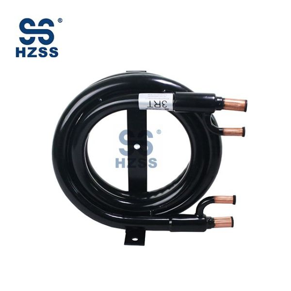Hangzhou HZSS Copper Titanium Nerezová ocel Kondenzátor a výparník WSHP cívky