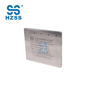 Quality assured hzss stainless steel titanium miniature medical micro-channel heat exchanger
