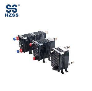 النحاس الداخلي الأساسية البلاستيك الصلب قذيفة وأنبوب مبادل حراري HZSS