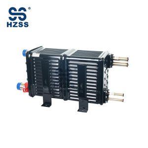 نظام مزدوج البلاستيك الصلب قذيفة والأنابيب مبادل الحرارة الأساسية النحاس الأساسية السعر HZSS