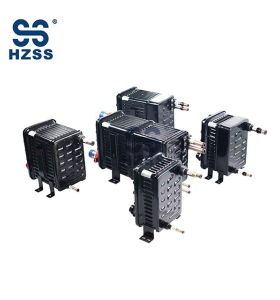Plastic steel shell and pipe double system heat exchanger manufacturer