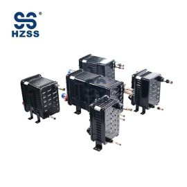 Fabricante de intercambiador de calor de sistema doble de carcasa y tubo de acero plástico