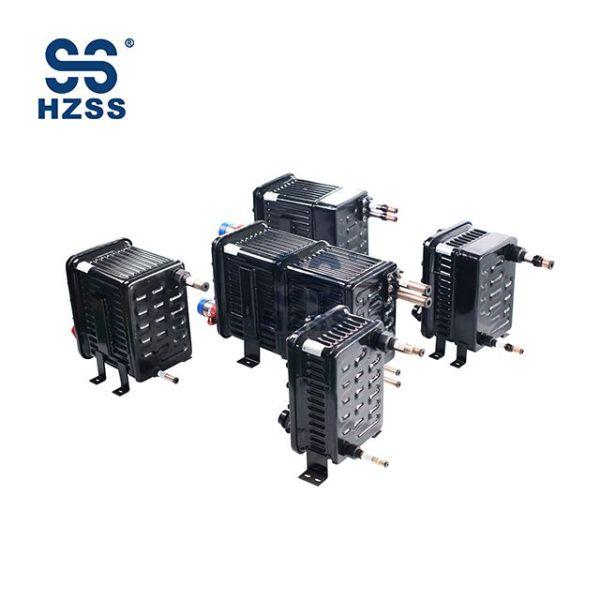 Plastový ocelový skořápkový a trubkový dvojitý systém výměníku tepla