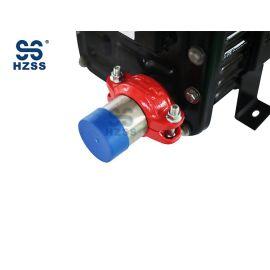 هانغتشو HZSS SS-0250GST-F النحاس الداخلية الأساسية البلاستيك الصلب قذيفة والأنابيب مبادل حراري