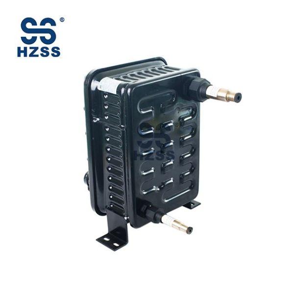 Měděné vnitřní jádro kondenzátoru R410 chladiva plastové skořápky a trubkový výměník tepla