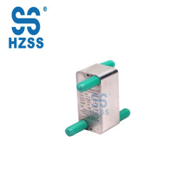 HZSS alta coeficiente de transferencia de calor micro canales de escala integrado intercambiador de calor de micro canales