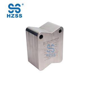 HZSS المصنع مباشرة ذات جودة عالية أقل تهمة التبريد مدمجة مبادل حراري قناة الصغرى