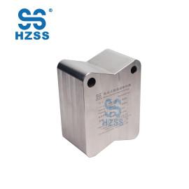 HZSS fábrica directo de alta calidad menos carga de refrigerante integrado intercambiador de calor de micro-canales