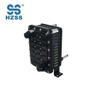 HZSS vente chaude en plastique en acier shell & tuyau échangeur de chaleur titane noyau interne pompe à chaleur