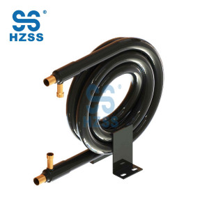 HZSS CE certification copper inner tube heat exchanger for condenser/evaporator