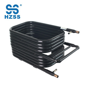 R744 refrigeration Supercritical CO₂ heat exchanger water heater system