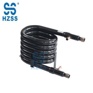 HZSS water/ground source heat pump copper material heat exchange parts