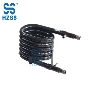 HZSS water/ground source heat pump copper material heat exchange parts
