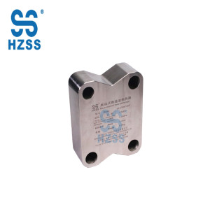 HZSS Independent research and development micro-channel heat exchanger