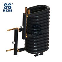 HZSS direct thermal air source heat pump coaxial heat exchanger