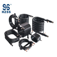 HZSS Condenser & Evaporator Coils Copper Heat Exchanger for WSHP