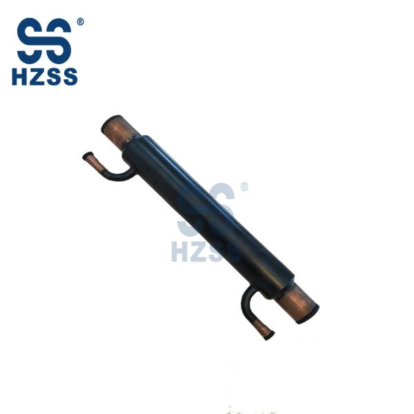 HZSS tube heat exchanger for subcooler/economizer/regenerator