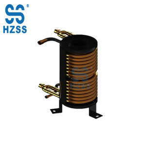 HZSS R&D spiral copper tube coil-in-shell heat exchanger