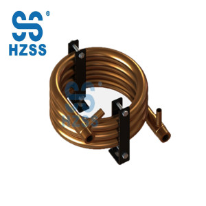 China Hangzhou / round coaxial heat exchanger wholesale