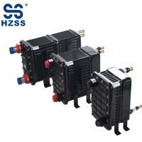 HZSS plastic steel shell&pipe heat exchanger Chiller evaporator