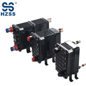 HZSS plastic steel shell&pipe heat exchanger Chiller evaporator
