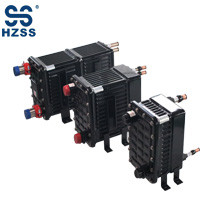 HZSS plastic steel shell&pipe heat exchanger copernickel pipe