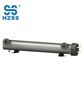 High heat transfer performance shell and tube heat exchanger