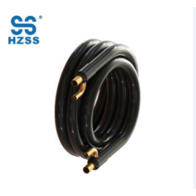 HZSS نظام واحد أنبوب النحاس في أنبوب أنبوب محوري البحرية المبخر مضخة حرارة مبادل حراري