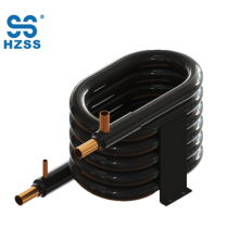 China high efficiency coaxial coil stainless steel copper heat exchanger tube in tube