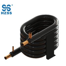 China tubo coaxial del cambiador de calor del acero inoxidable de la bobina coaxial de la eficacia alta en tubo
