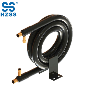 HZSS hot selling tube in tube coaxial coil stainless steel and copper pipe heat exchanger