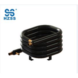 HZSS نظام واحد مزدوج النحاس أنابيب الصلب غير القابل للصدأ الأنابيب في أنابيب المياه المحورية إلى مضخة حرارة مبادل حراري الهواء