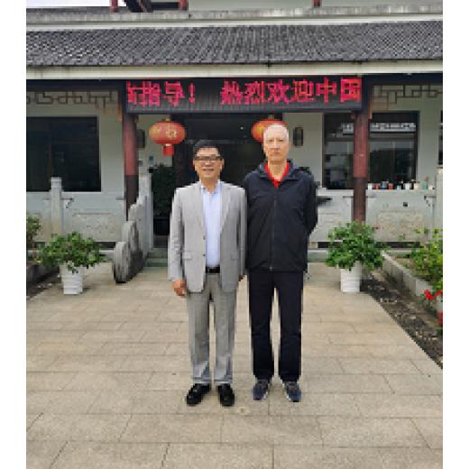 国家知识产权局原局长田力普一行莅临杭州凯时平台登录参观指导