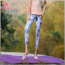 Wholesale Polyester Spandex Leggings Sexy Women Slim Fit Mesh Fitness Tights