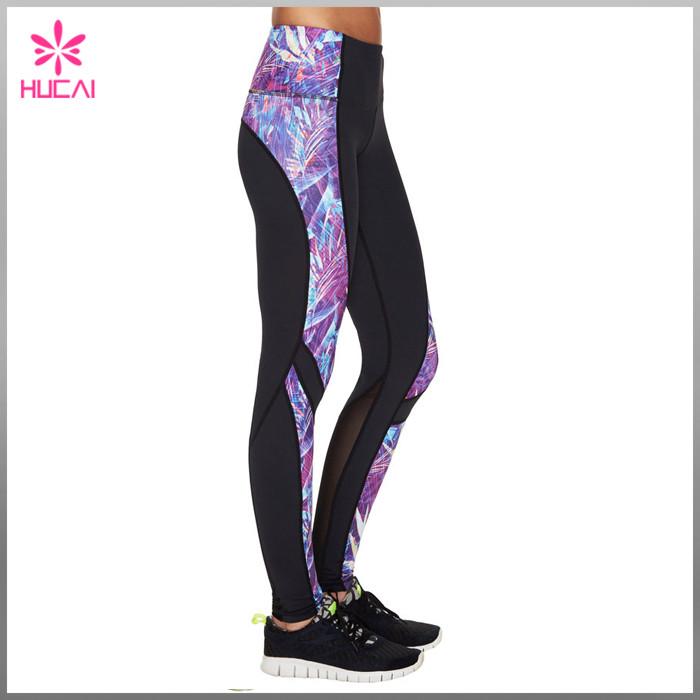 Mesh compression tights