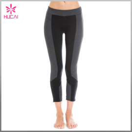 Wholesale Nylon Spandex Yoga Clothing Sexy Dry Fit Sports Pants Women Fitness
