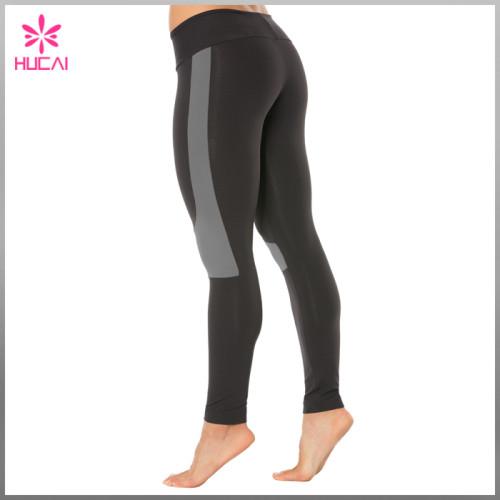 Wholesale Nylon Spandex Yoga Clothing Sexy Dry Fit Sports Pants Women Fitness