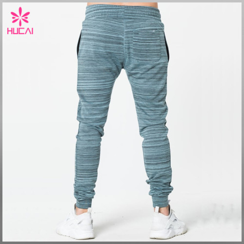 Custom Tapered Sweatpants Cotton Polyester Wholesale Blank Jogger Pants Men