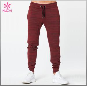 Custom Tapered Sweatpants Cotton Polyester Wholesale Blank Jogger Pants Men