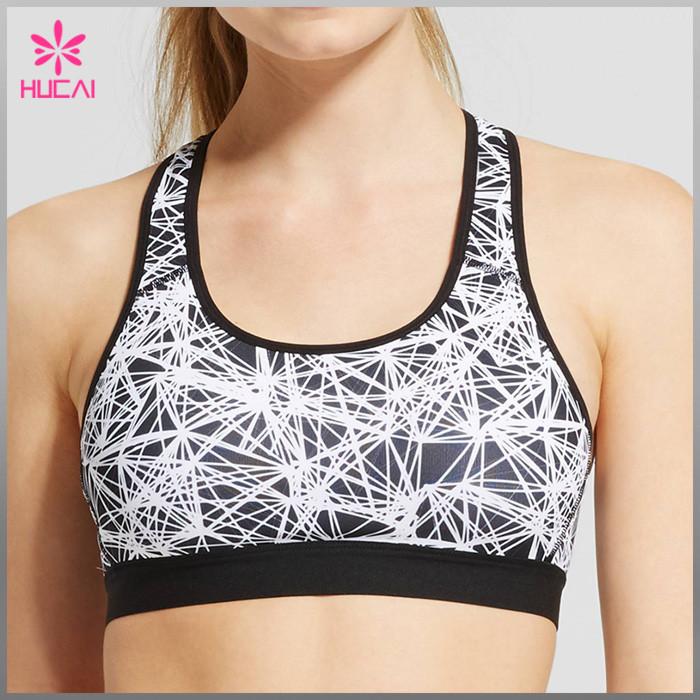 nylon elastane sports bra wholesale