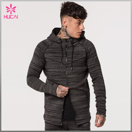 Wholesale Muscle Fit Cotton Polyester Custom Mens Camo Sports Hoodie Manufacturer