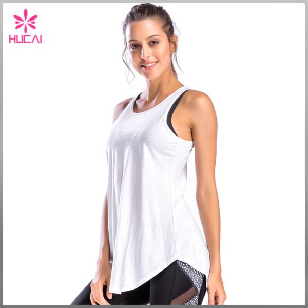 Custom Fitness Wear Loose Fit Women Gym Tank Top Manufacturer