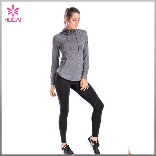 Wholesale Dry Fit Light Weight Custom Women Running Jacket Summer