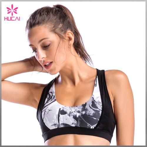 Wholesale Sports Clothing Yoga Wear Dry Fit Women Mesh Sexy Yoga Bra