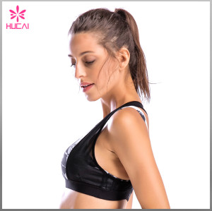 Wholesale Sports Clothing Yoga Wear Dry Fit Women Mesh Sexy Yoga Bra